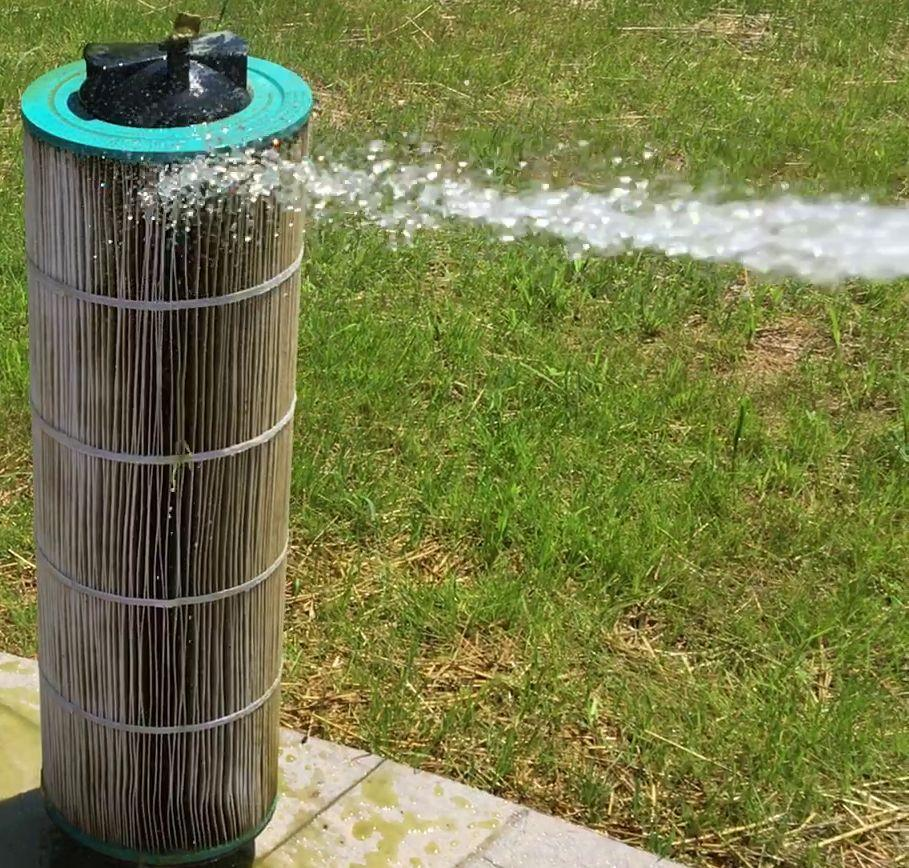 Clean A Swimming Pool Cartridge Filter