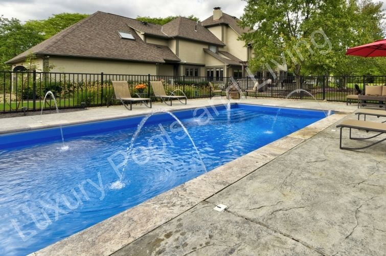 Palm Beach Fiberglass Pool Luxury Pools And Living