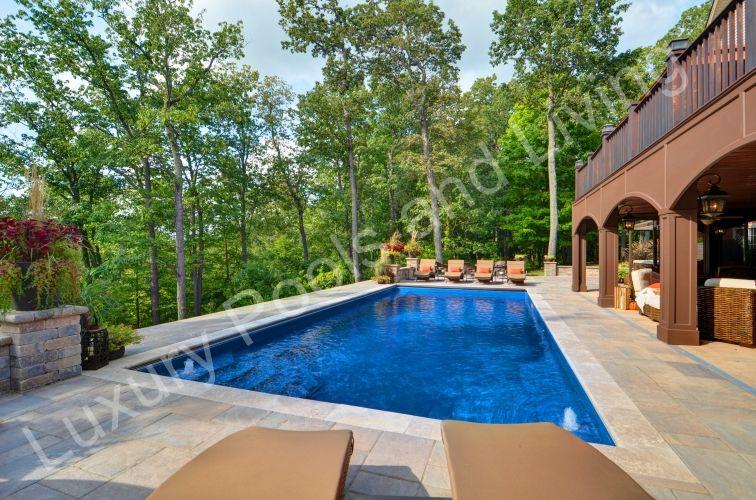 Palm Beach Fiberglass Pool Luxury Pools And Living