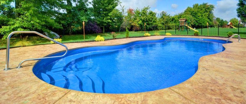 Mediterranean Fiberglass Pool Luxury Pools And Living
