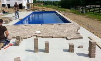 Captivating Though A Good Base, If Well Installed, Can Be U0027good Enoughu0027 We Highly  Recommend Installing Pavers Over A Concrete Slab.